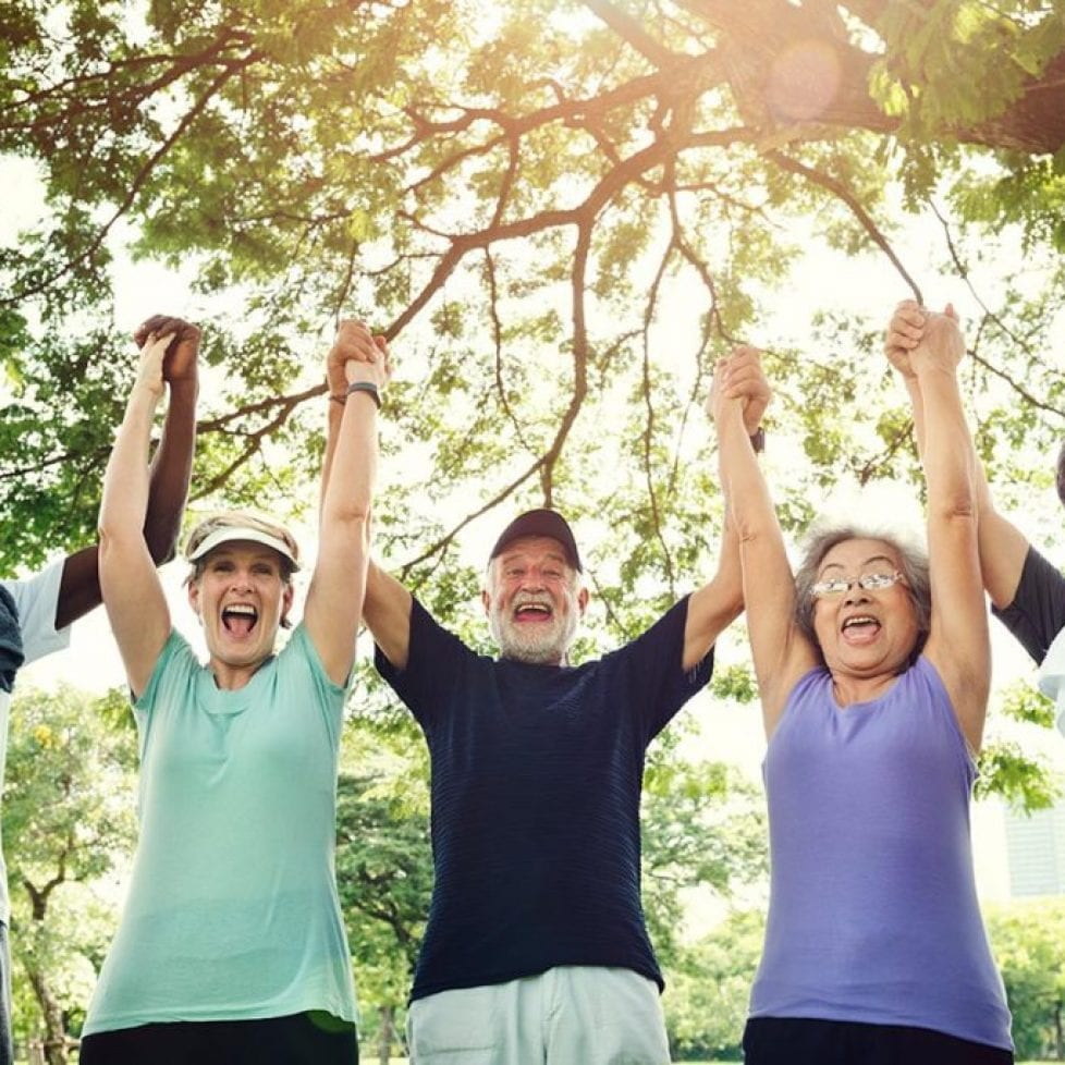 Slowing down our old age