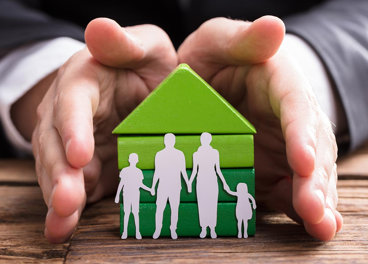 Mortgage protection – Keeping the roof over your family's heads